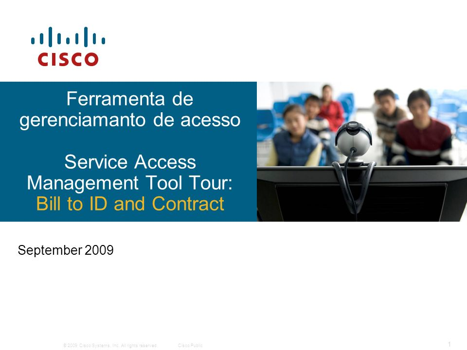 Ferramenta de gerenciamanto de acesso Service Access Management Tool Tour: Bill to ID and Contract