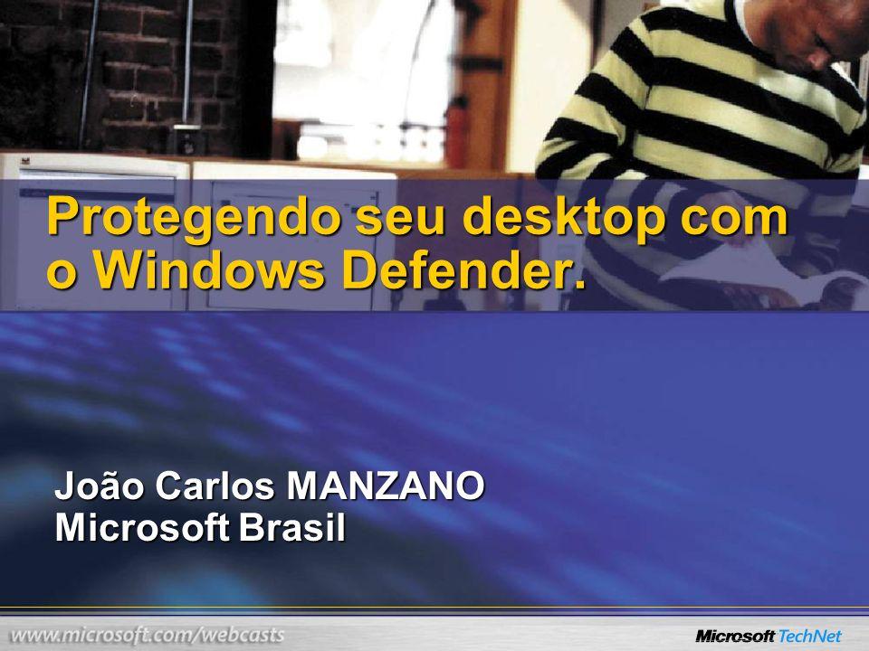 Protegendo seu desktop com o Windows Defender.