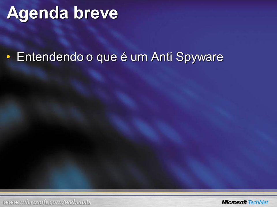 Agenda breve Entendendo o que é um Anti Spyware