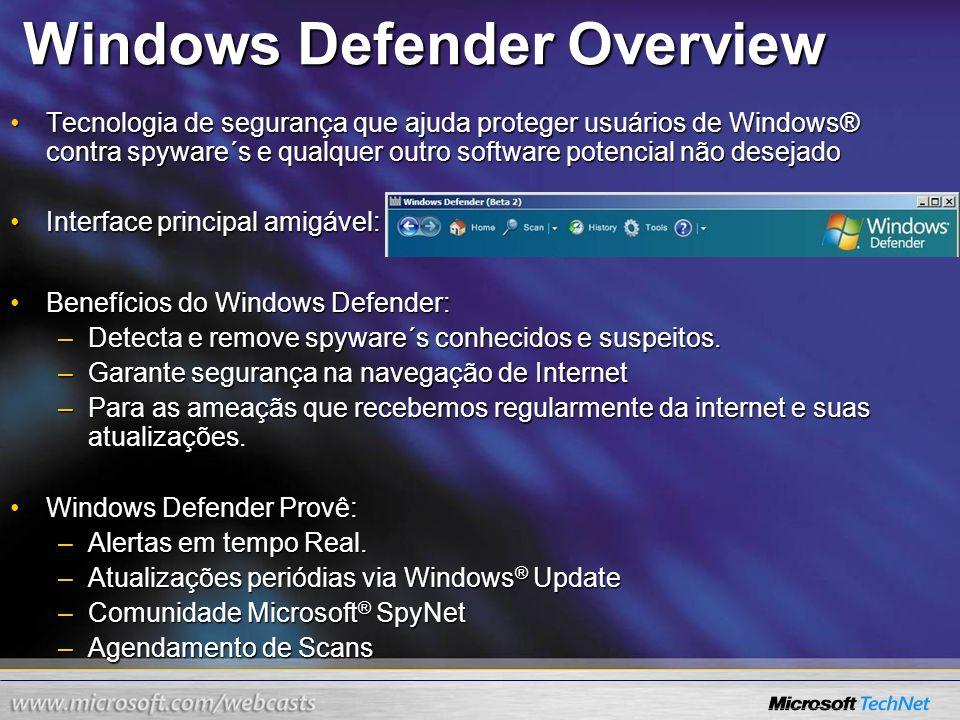 Windows Defender Overview