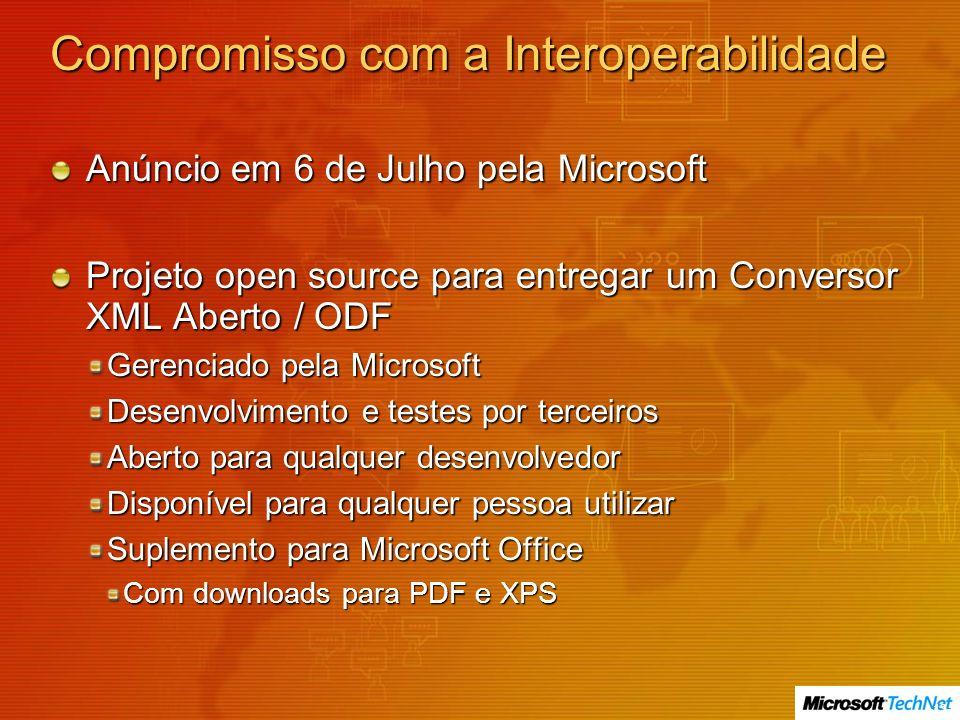 Compromisso com a Interoperabilidade