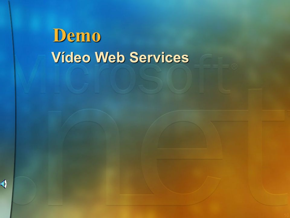 Demo Vídeo Web Services