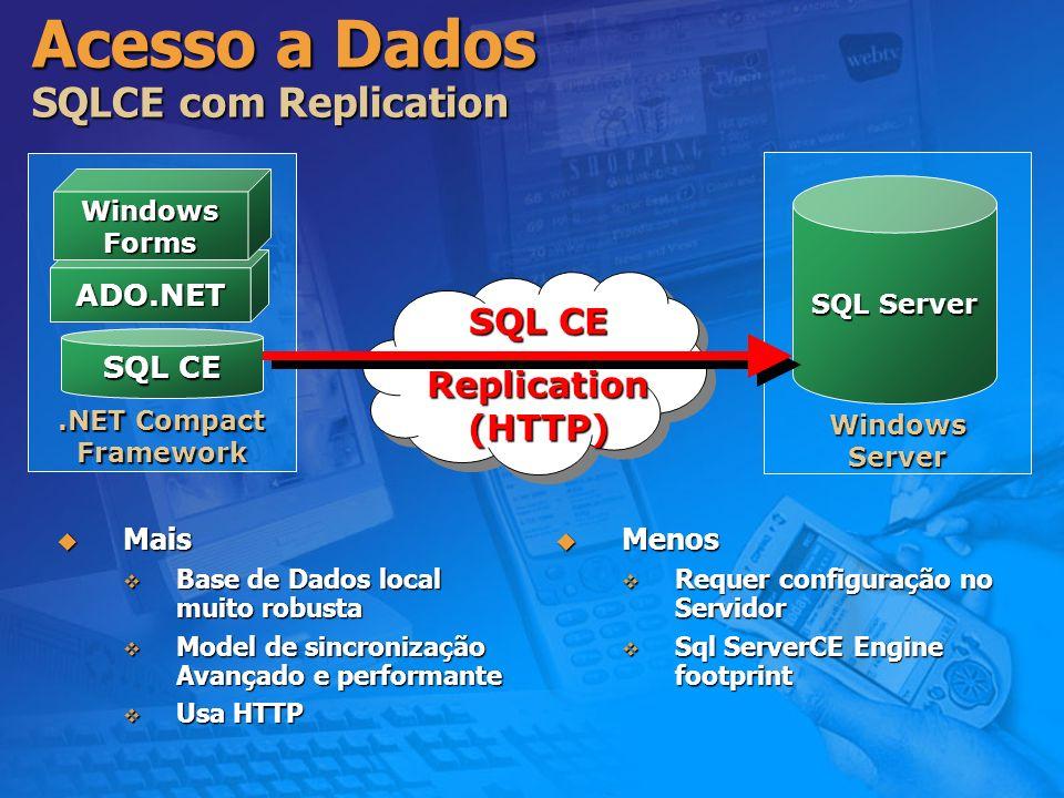 Acesso a Dados SQLCE com Replication