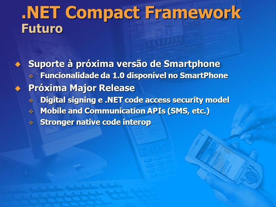 .NET Compact Framework Futuro