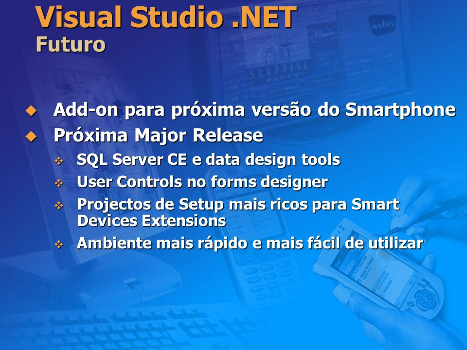 Visual Studio .NET Futuro