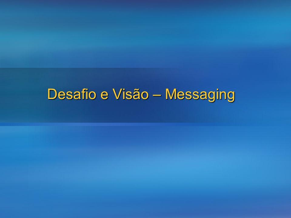 Desafio e Visão – Messaging