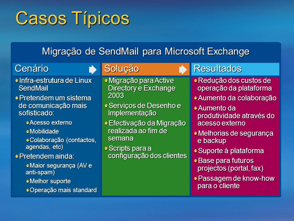 Migração de SendMail para Microsoft Exchange