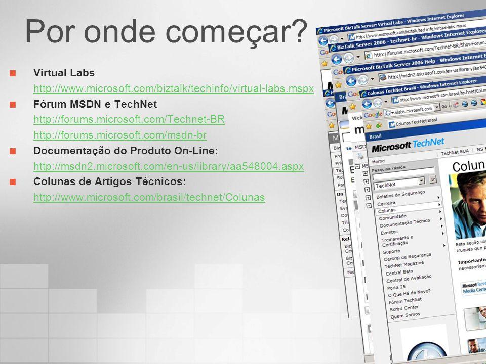Por onde começar Virtual Labs