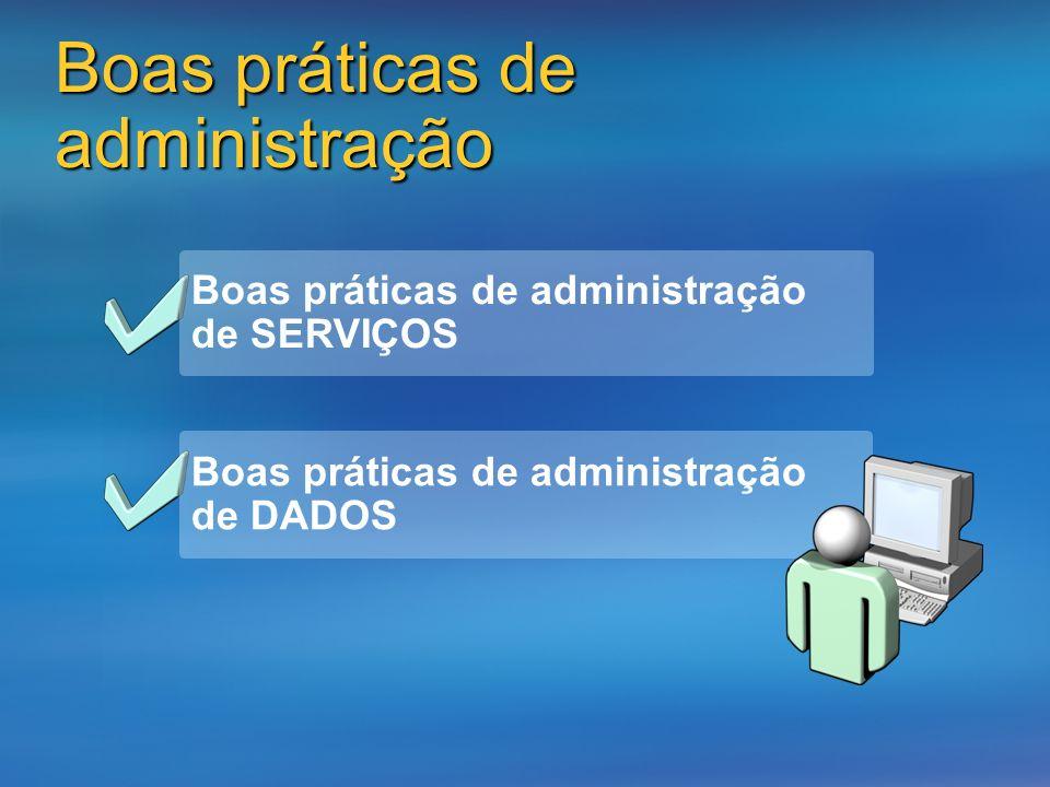 Boas práticas de administração