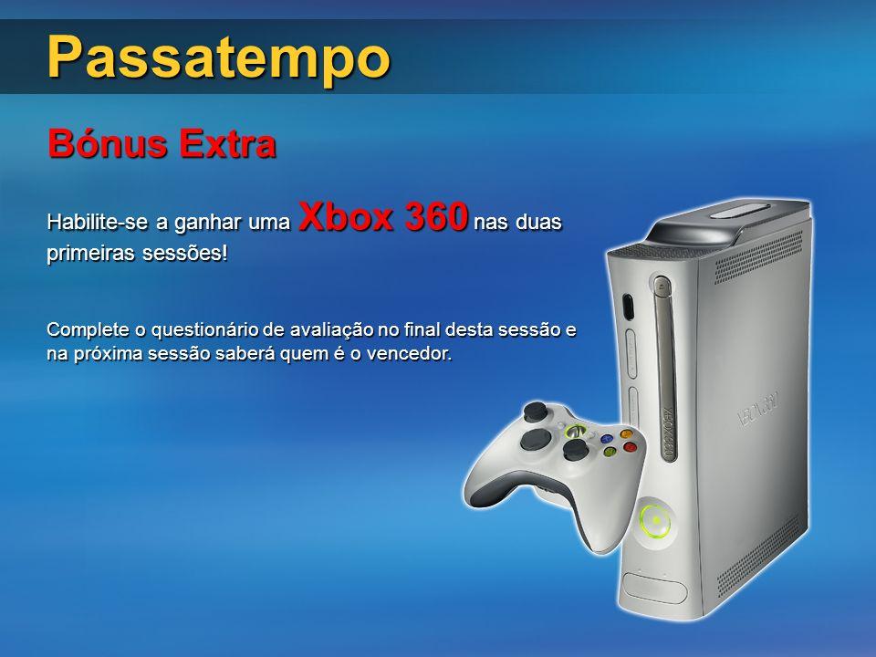 Passatempo Bónus Extra