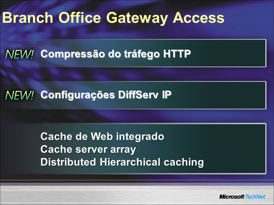 Branch Office Gateway Access