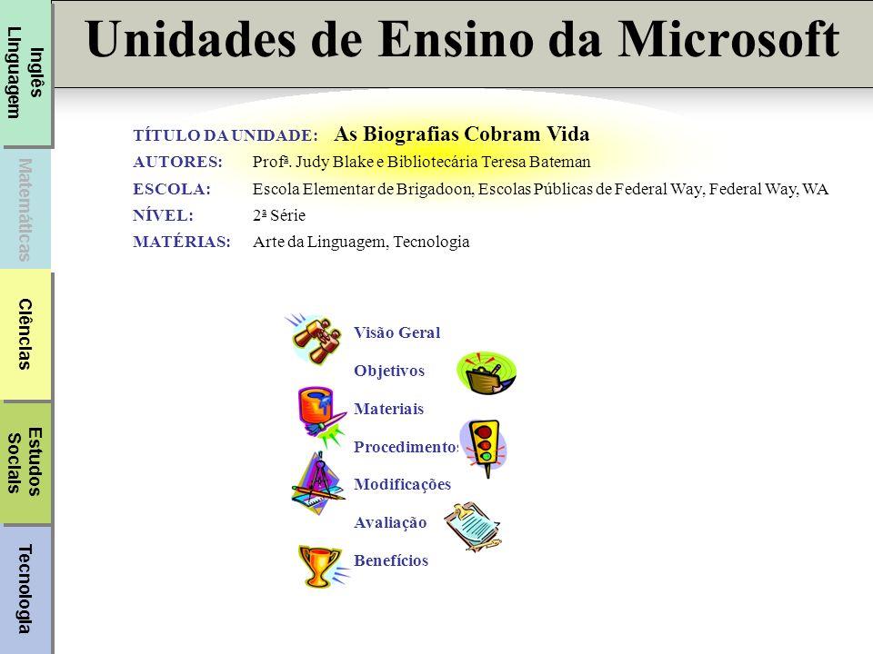 Unidades de Ensino da Microsoft