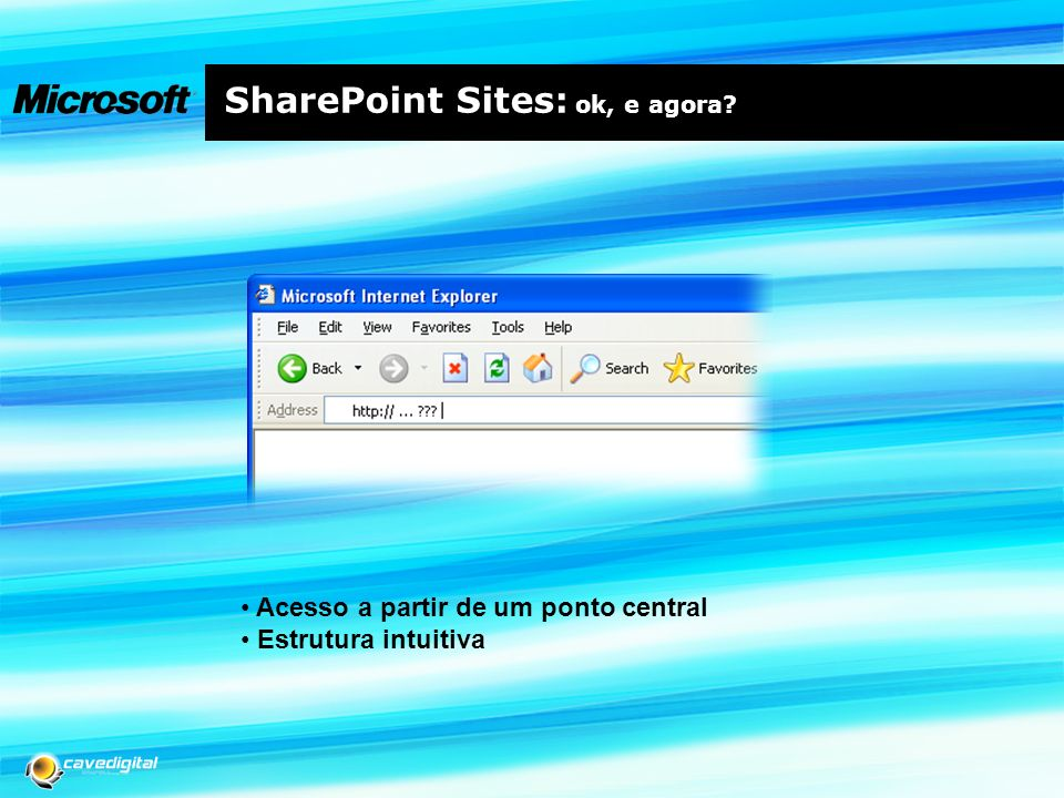 SharePoint Sites: ok, e agora