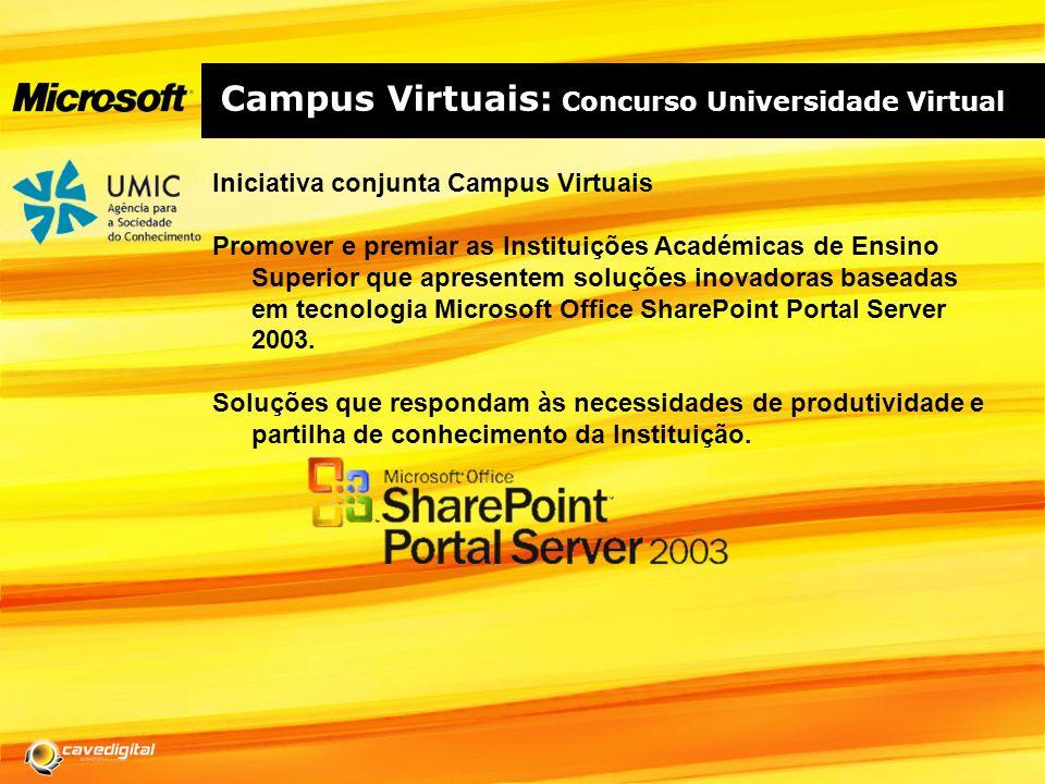 Campus Virtuais: Concurso Universidade Virtual