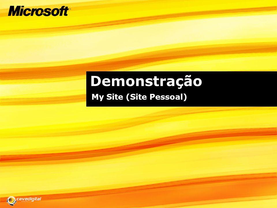 Demonstração My Site (Site Pessoal)