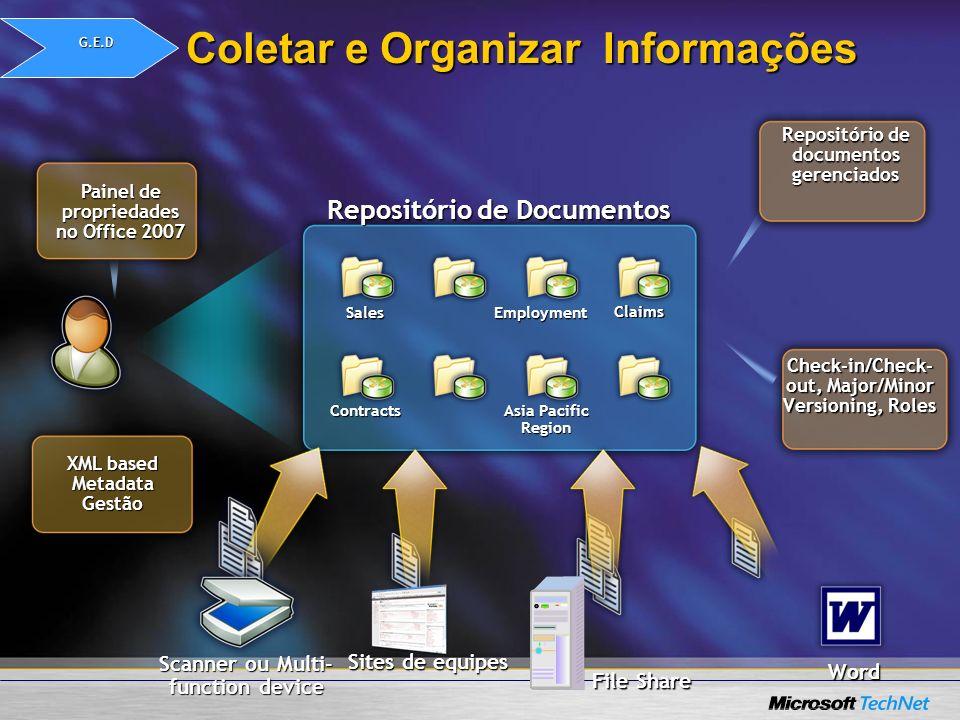 Coletar e Organizar Informações