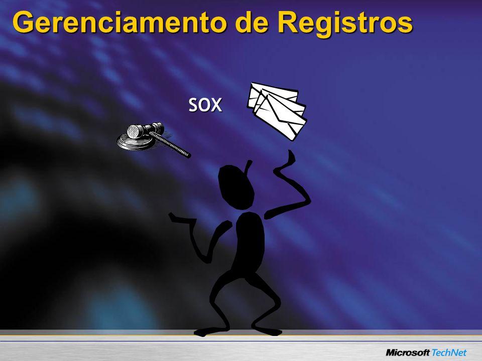 Gerenciamento de Registros