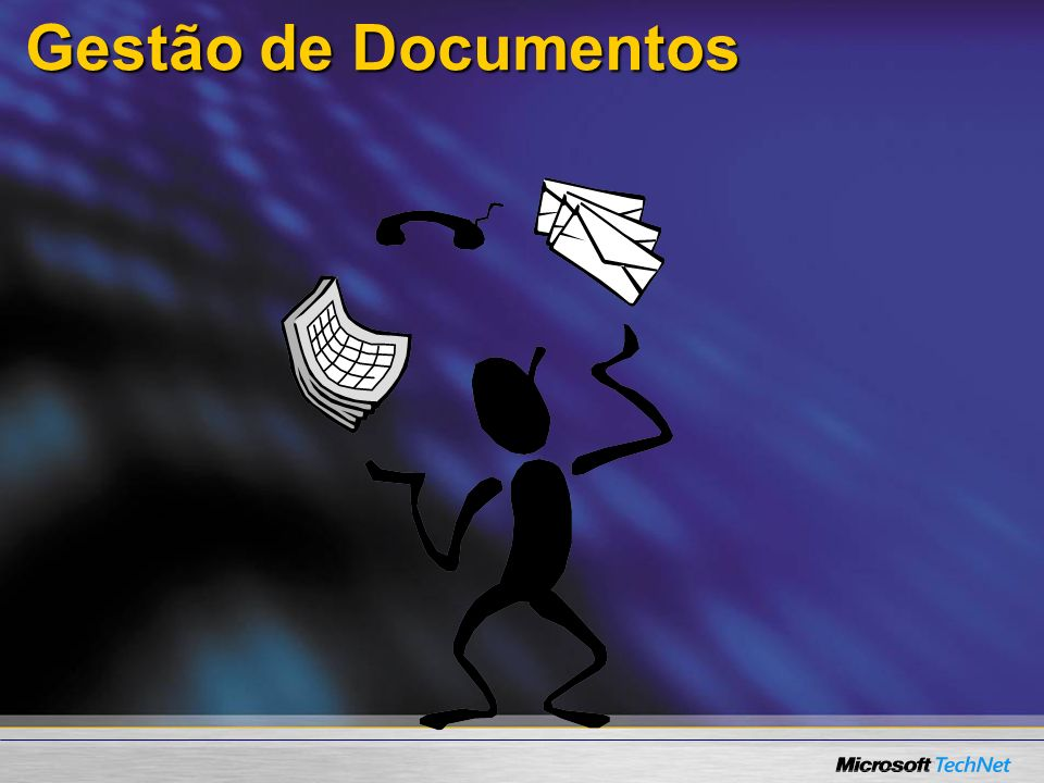 Gestão de Documentos Let's start by going into details of our Document Management capabilities. 9