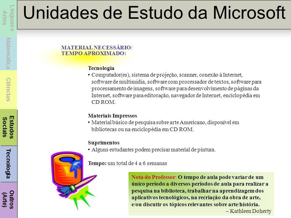 MATERIAL NECESSÁRIO/TEMPO APROXIMADO: Tecnologia.