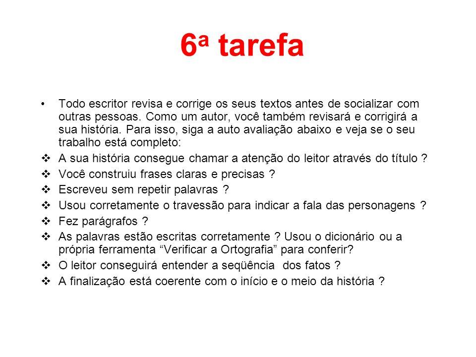 6a tarefa