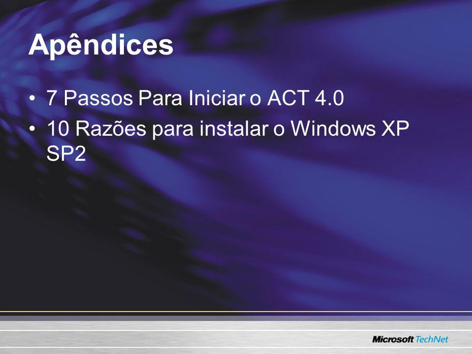 Apêndices 7 Passos Para Iniciar o ACT 4.0