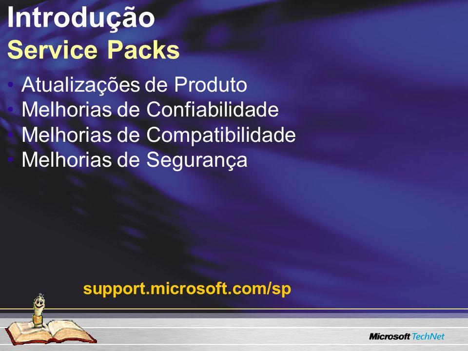 Introdução Service Packs