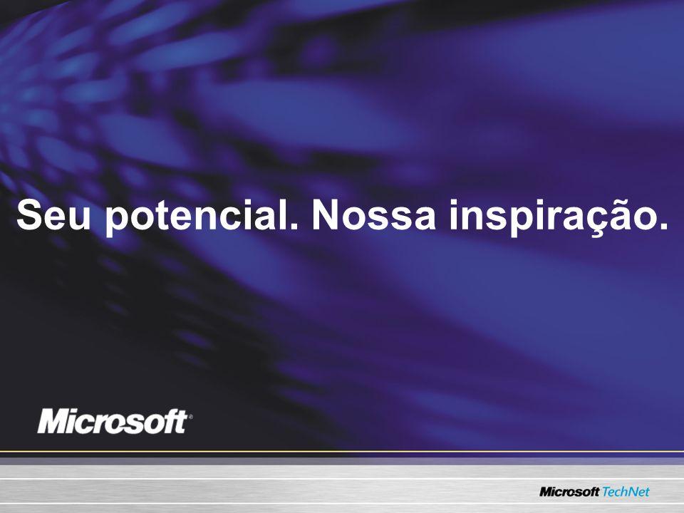 Seu potencial. Nossa inspiração.
