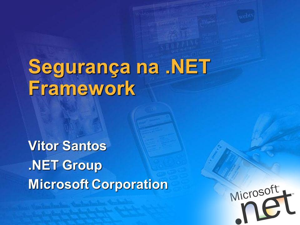 Segurança na .NET Framework