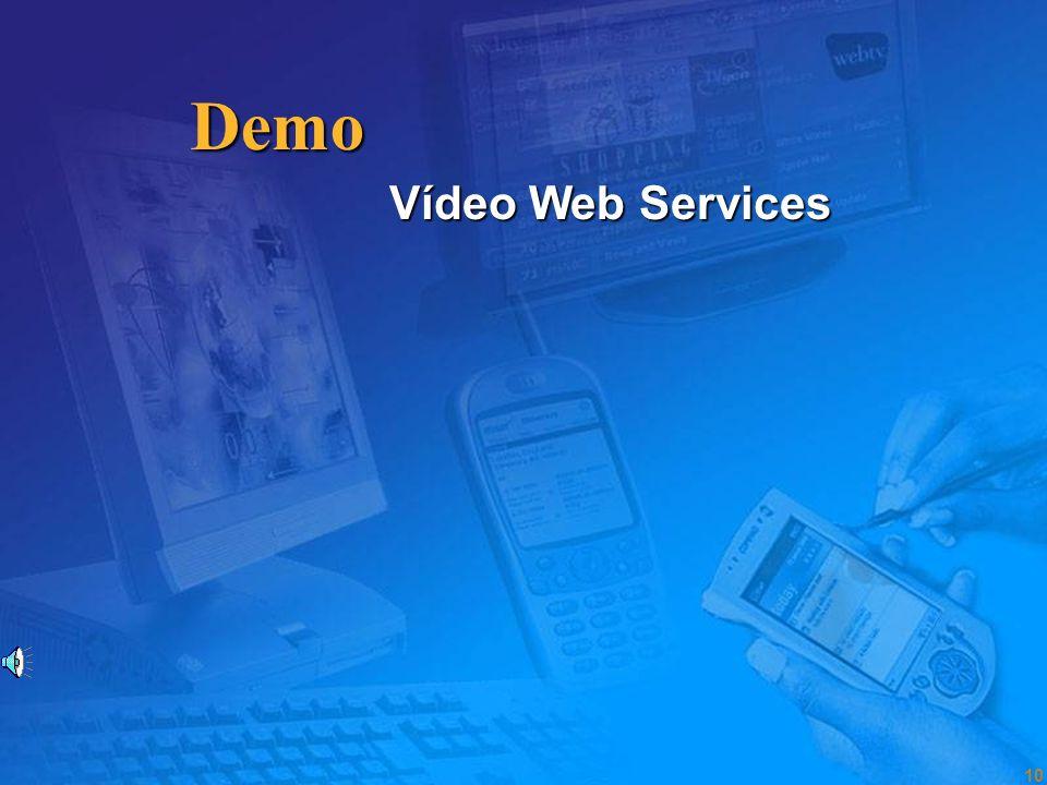 Demo Vídeo Web Services