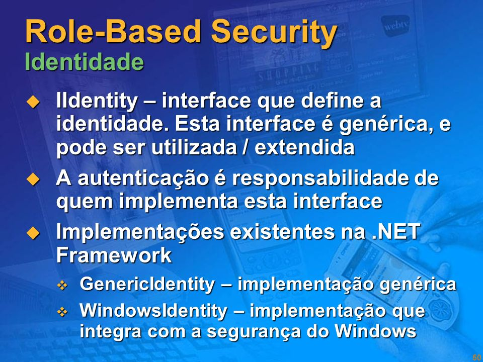 Role-Based Security Identidade