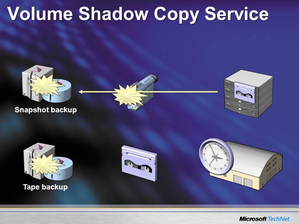Volume Shadow Copy Service