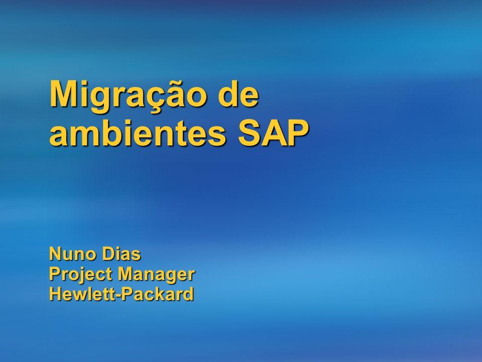 Nuno Dias Project Manager Hewlett-Packard