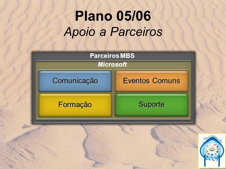 Plano 05/06 Apoio a Parceiros