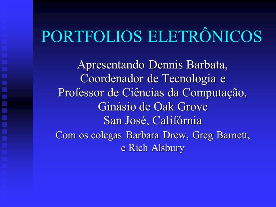 PORTFOLIOS ELETRÔNICOS
