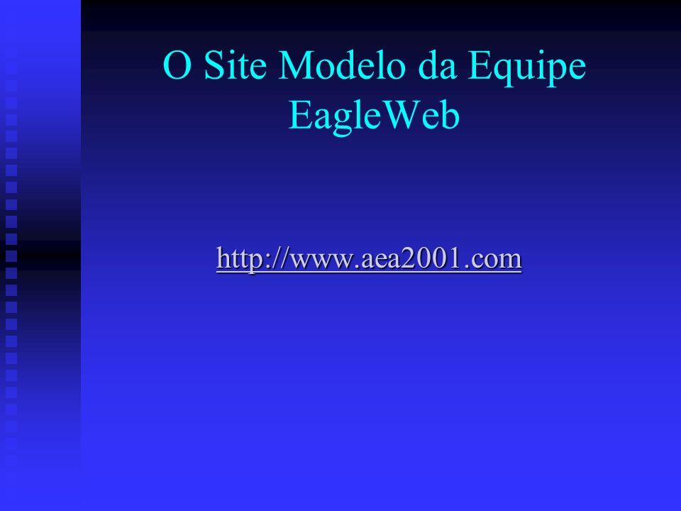 O Site Modelo da Equipe EagleWeb