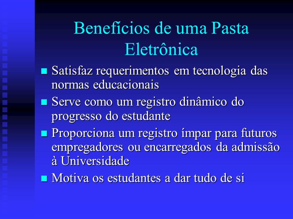 Benefícios de uma Pasta Eletrônica