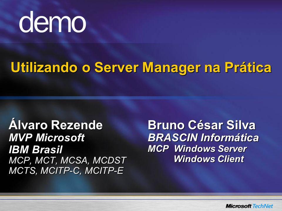 Utilizando o Server Manager na Prática