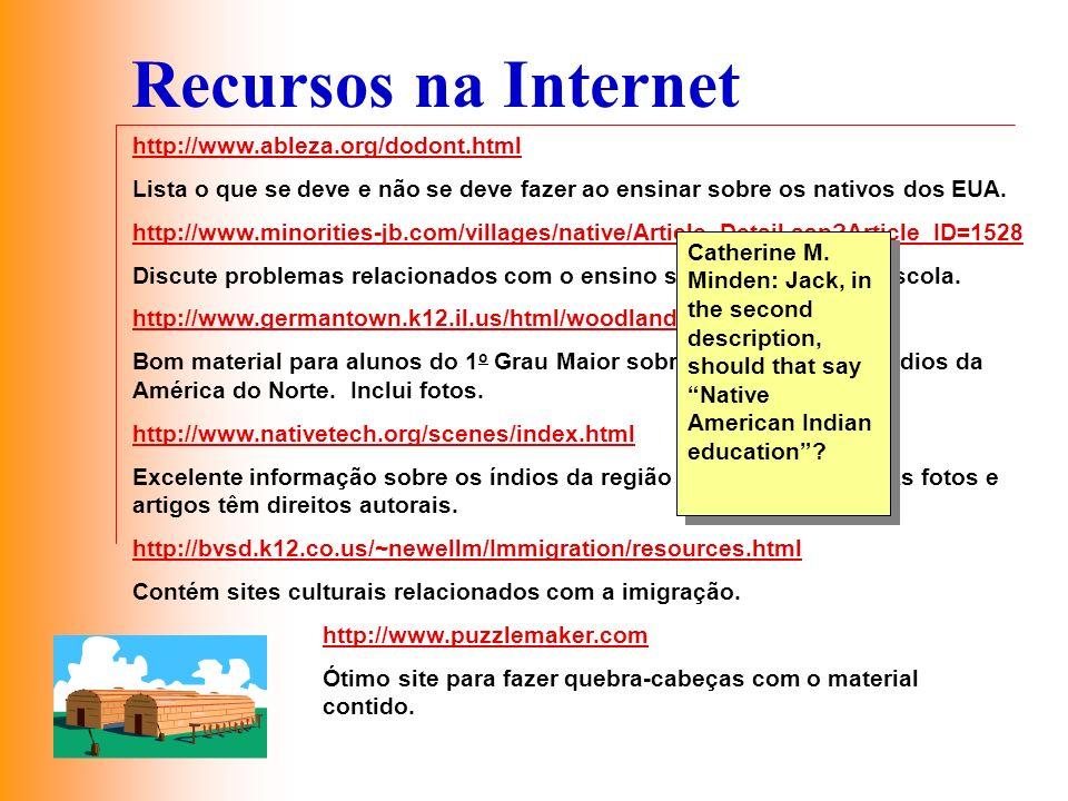 Recursos na Internet http://www.ableza.org/dodont.html