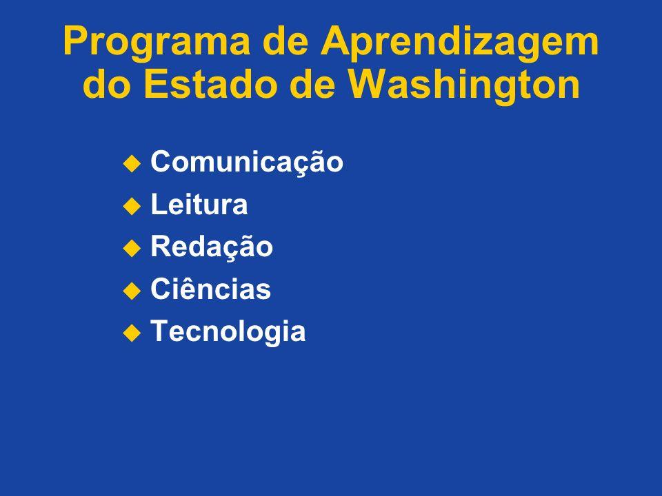 Programa de Aprendizagem do Estado de Washington