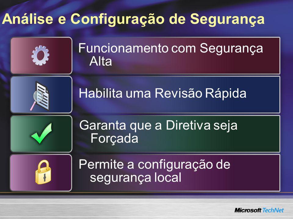Análise e Configuração de Segurança