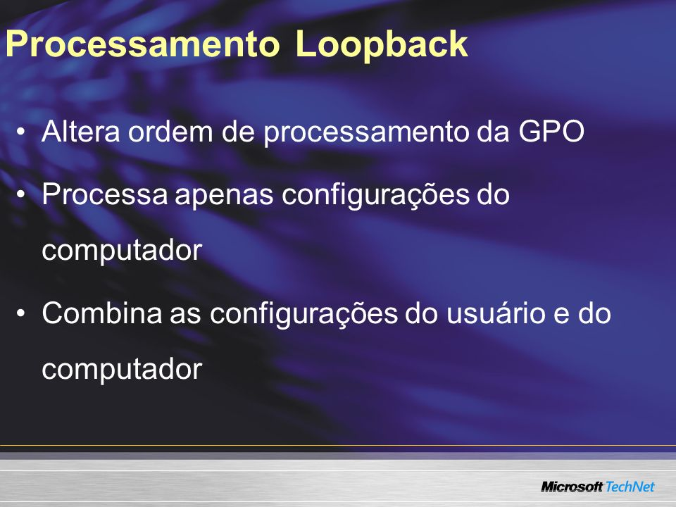 Processamento Loopback