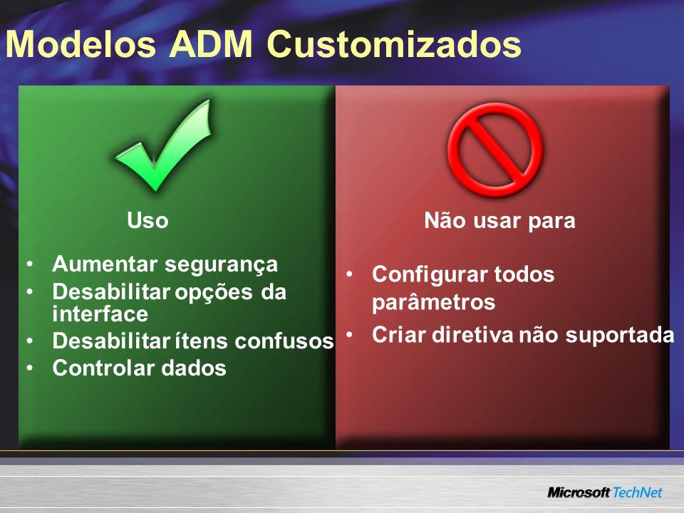 Modelos ADM Customizados