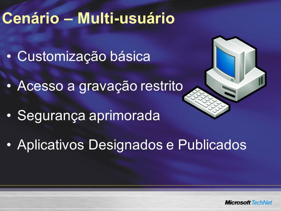 Cenário – Multi-usuário