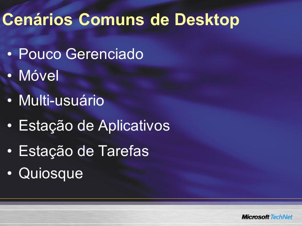 Cenários Comuns de Desktop
