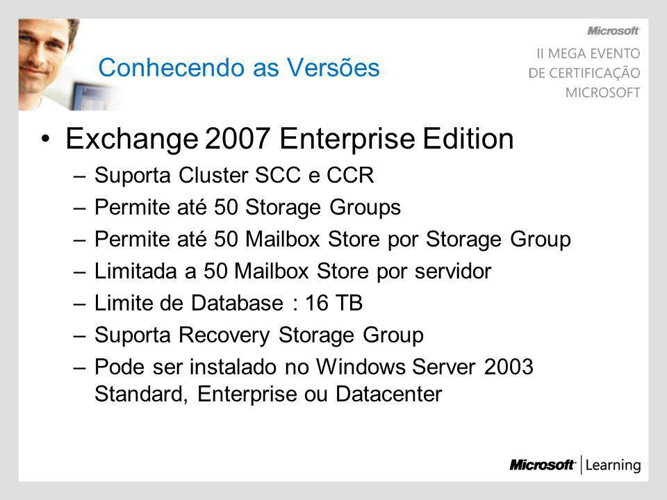 Exchange 2007 Enterprise Edition