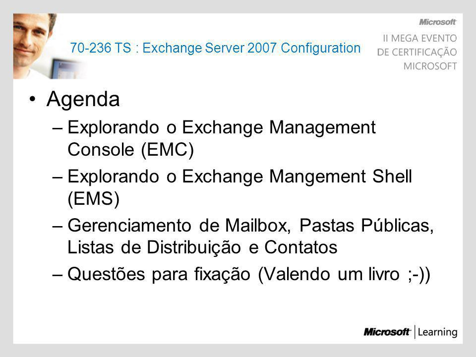 70-236 TS : Exchange Server 2007 Configuration
