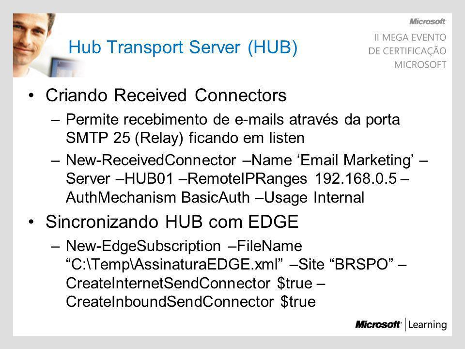 Hub Transport Server (HUB)