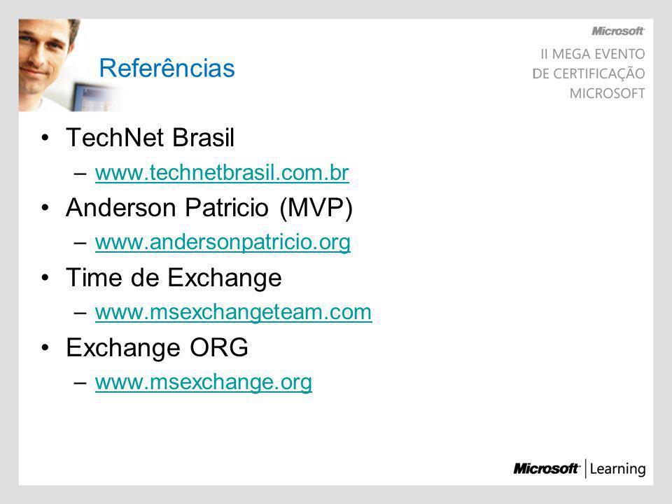 Anderson Patricio (MVP) Time de Exchange Exchange ORG