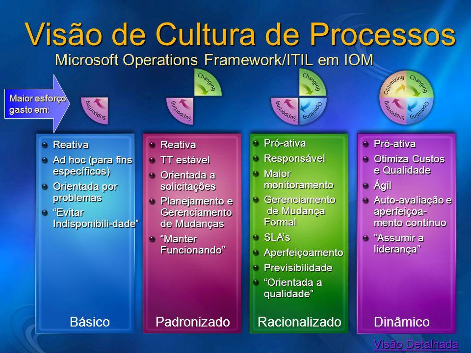 Visão de Cultura de Processos