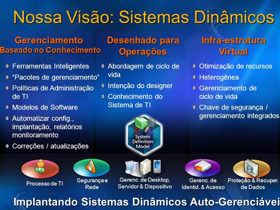 Nossa Visão: Sistemas Dinâmicos